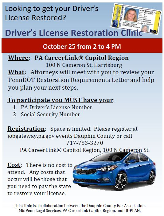 philadelphia drivers license restoration lawyer