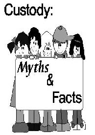 Custody: Myths & Facts graphic