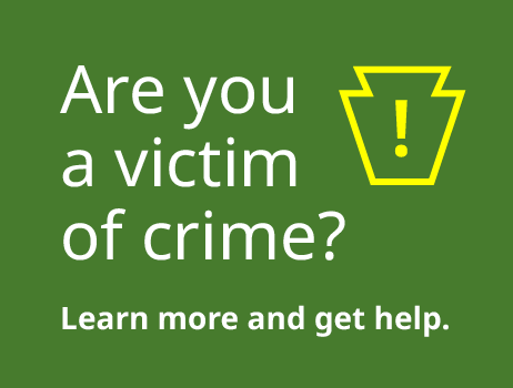 Are you a victim of crime? Learn more and get help.